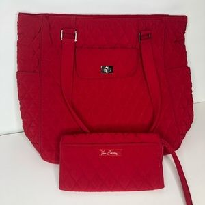 Vera Bradley | Red Purse and Wallet
